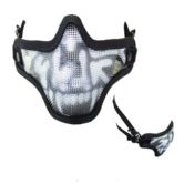 Nuprol Skull Lower Face Mesh Mask